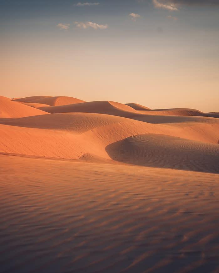 Wahiba-Wüste-Dünen-Oman