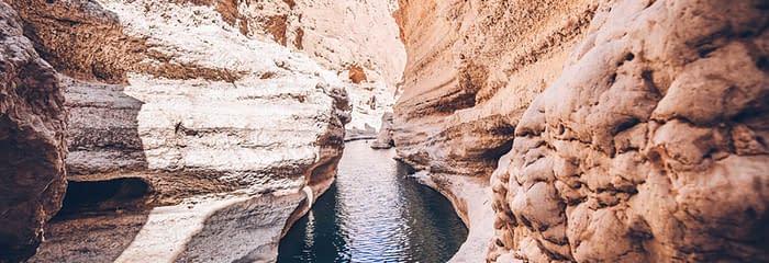 Watercourse at Wadi Shab