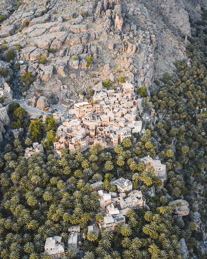 Aerial View of Birkat Al Mouz