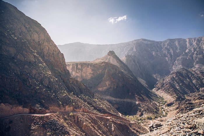 Panoramic View of Wadi Bani Awf
